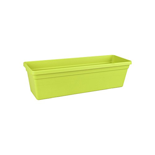 Elho green basics trough balcony planter 50cm - lime green