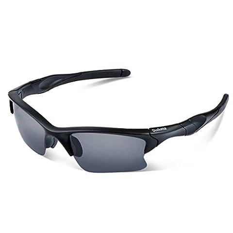 Duduma Polarisierter Sport Herren Sonnenbrille für Skifahren Golf Laufen Radsport Tr566 Superleichtes Rahmendesign für Herren und (Service Macht Den Unterschied)
