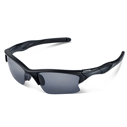 4d7ca7fb25 Duduma Polarised Sports Mens Sunglasses for Ski Driving Golf Running Cycling  Tr90 Superlight Frame Design for
