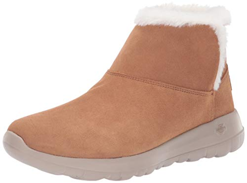 Skechers On-The-Go Joy-Bundle Up-15501, Stivaletti Donna, Marrone, 38.5 EU