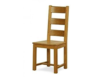 BP Sedie - Sedia CASTILLANA rovere massello sedile legno massello ...