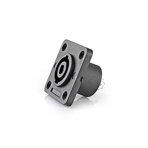 TronicX - Conector para Altavoces (25 Unidades, Conector Hembra de 4 Pines,...