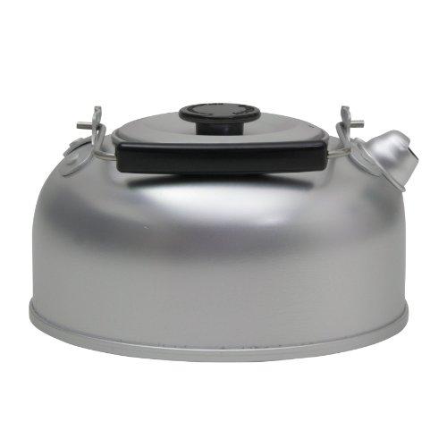 10T Kettle 950ml Alu Wasserkessel Camping Teekessel Outdoor Wasserkocher Trekking Kessel mit Klappgriff, eloxiert, spülmaschinengeignet