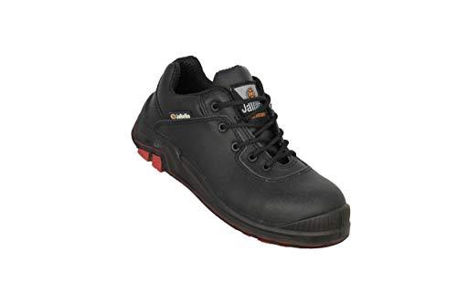 Scarpe Professionali Jallatte Jalbison X2 S3 HRO Ci lavorano Scarpe Nere Piatta, Dimensione:39 EU