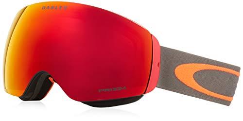 Oakley Herren Schneebrille Flight Deck XM Dark Brush Orange