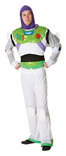Rubie 's Offizielle Buzz Lightyear Toy Story, Erwachsene Kostüm–Standard Größe