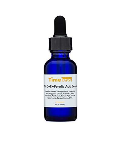 Timeless Skin Care 20% Vitamin C+E Ferulic Acid Serum 30ml - Authorised UK seller - Fresh, Brand New & Sealed