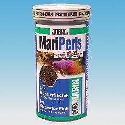 JBL Alimento completo para peces marinos, Alimento en grano 1 l, MariPearls 40591
