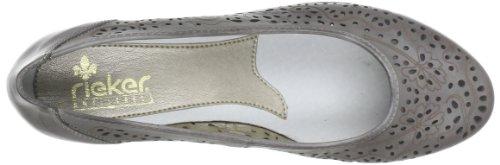 Rieker 43265 Damen Pumps Grau (whitedust 42)