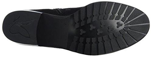 Caprice Damen 25303 Chelsea Boots Schwarz (Black Suede)