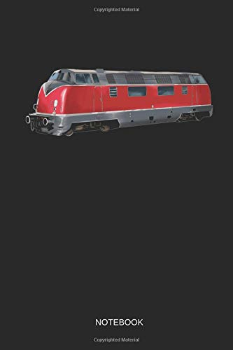 Railroad - Notebook: Lined Train & Railroad Notebook / Journal. Funny Railway Accessories & Novelty Train Gift Idea & Party Favors for Model Train & Locomotive Lover. -