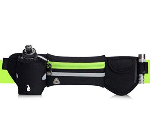 OOFWY Sport Running Kettle Pockets Taille Gürtel Telefon Pack Tasche D