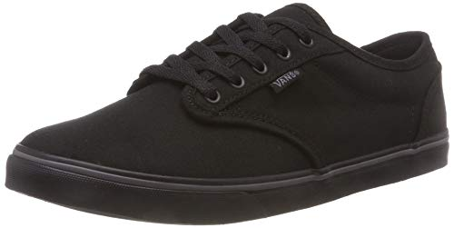 Vans ATWOOD LOW Damen Sneakers, Schwarz ((Canvas) Black/ 186), 41 EU