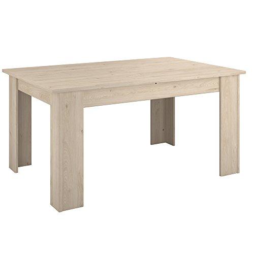 INFINIKIT – Holly Tisch, ausziehbar – Eiche Hell Optik