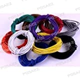 #8: PGSA2Z Branded 20 meter Multistand wires for DIY Electronics Projects (4 colors 5 mts each),Red