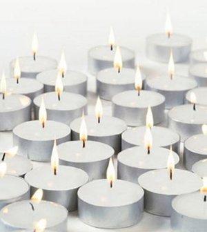 2 x 100 x IKEA Glimma velas/velas de té (200 unidades)