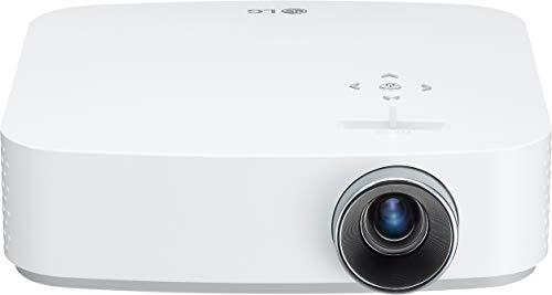 LG Beamer PF50KS bis 254 cm (100 Zoll) CineBeam Full HD LED Projektor (600 Lumen, USB Type-C, webOS), weiß 1080p-led