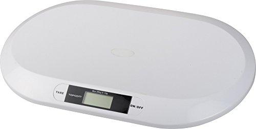 Topcom Babywaage Digital WG-2490, Tragkraft 20 Kg