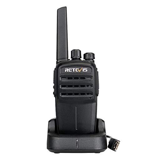 Retevis RT40 DMR Walkie Talkie Digitale PMR446 Licenza-Libero Radio Amatoriale VOX Digital Ricetrasmittente Bidirezionale Compatibile con Motorobo TierⅠeⅡ (Nero)