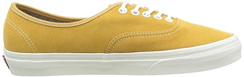 Vans Authentic, Baskets Basses Mixte Adulte Jaune (Varsity Suede amber gold)