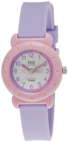 Q&Q Analog White Dial Children's Watch - VP81J017Y image
