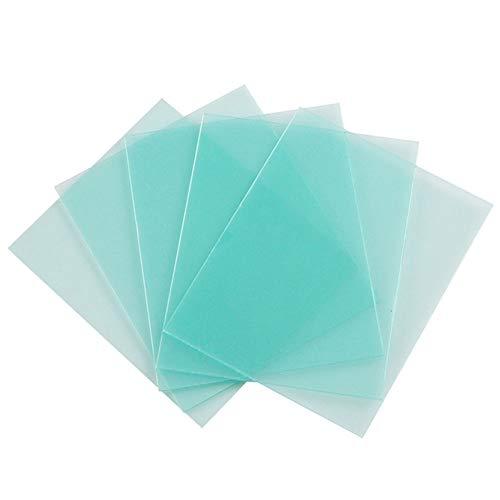 GFULLOV Lot de 10 plaques de Protection solaires Anti-éclaboussures pour Casque en Plastique avec Filtre en Polycarbonate, Voir Image, 115 * 90mm
