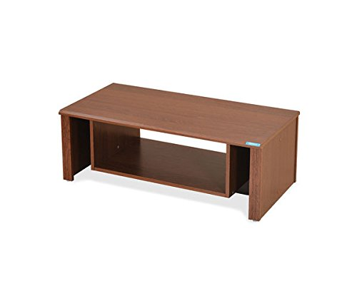 Nilkamal Bru Coffee Table (Glossy Finish, Brown)
