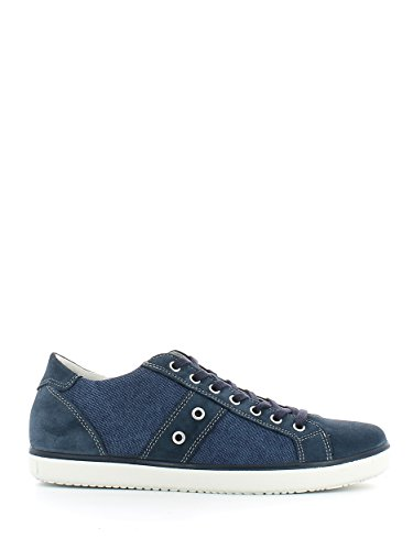 Imac 51101 Sneakers Homme Suède/tissu Bleu