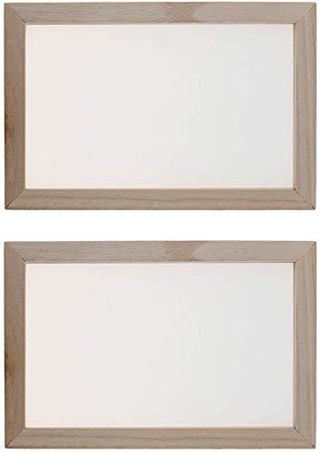 EPRHAY Edelstahl-Drahtgeflecht und traditioneller Holzrahmen Papierherstellung Rahmen Siebwerkzeug, geeignet für Papierherstellung, Maschendraht, handgefertigt, Bastelarbeiten (2 Stück)