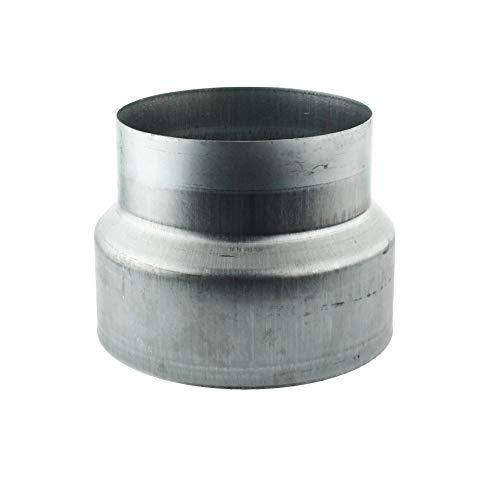 MKK - 18112-019 - Reduzierstück Reduktion Aluflex Rohr Flexrohr Lüftung Wickelfalzrohr Verzinkt 250-150 -