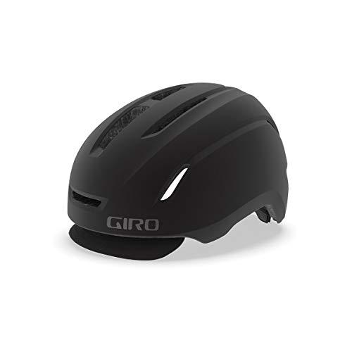 Giro Caden LED City Fahrrad Helm schwarz 2019: Größe: M (55-59cm)
