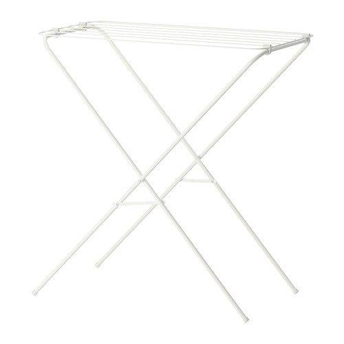 Ikea Wäscheständer (IKEA JALL -Wäscheständer weiß)