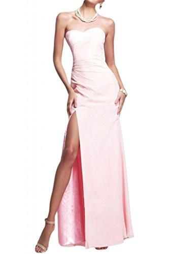 Toscana sposa dall'effetto a forma di cuore kraftool sposa giovane a lungo per abiti da sera un'ampia Party ball vestimento Rosa