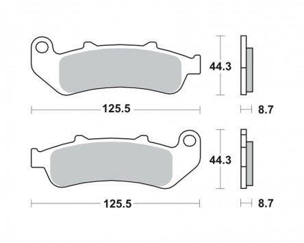 plaquettes-de-frein-trw-mcb658sv-pour-honda-cbr-1000-f-dual-cbs-sc24-93-01-avant