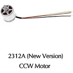 iMusk RC Accesorios para DJI Phantom 3 Pro / Adv / St / SE / 4K Motor 2312A KV800 CW CCW Motor Repuestos de Phantom 3 All Series (CCW Motor)