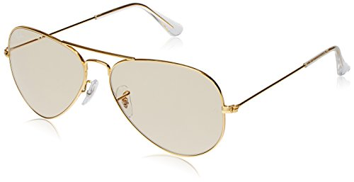 Ray-Ban Aviator Sunglasses (Golden) (RB3025|W324055)