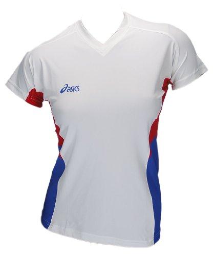 Asics Indoor Sports Pallavolo Pallamano Sportshirt Trikot Offence Slee Top Donna 0000 Art. 648203 Taglia XL