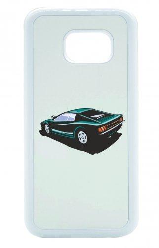Smartphone Case Hot Rod Sport carrello auto d epoca Young Timer shellby Cobra GT muscel Car America Motiv 9800per Apple Iphone 4/4S, 5/5S, 5C, 6/6S, 7& Samsung Galaxy S4, S5, S6, S