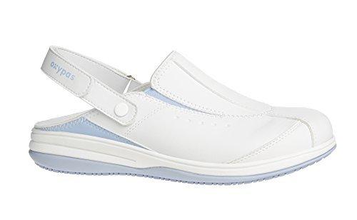 Oxypas Iris, Damen Sicherheitsschuhe, Weiß (lbl), 40 EU