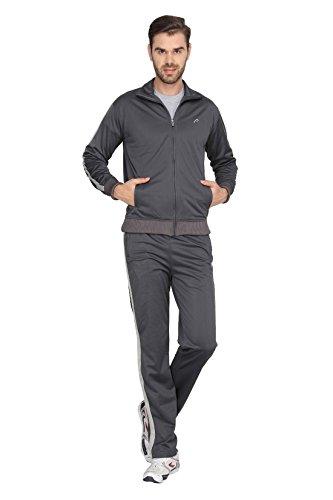 Proline Mens Grey Track Suit(trkst112de/le)