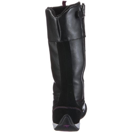 KangaROOS 10503 Gadget, Bottes fille Noir - schwarz/blk/cyclam