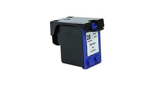 Hp-drucker-74 (printyo® D Tintenpatrone C8728AE cyan/magenta/gelb kompatibel für Drucker HP PSC 1315S 16,4ml)