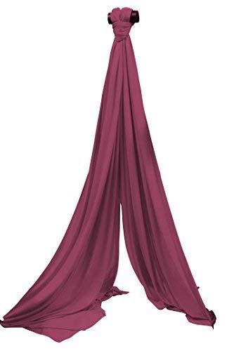 Vertikaltuch SchenkSpass 7m (Meter) für 3-4m Deckenhöhe (tissus, aerial fabric) (maroon)