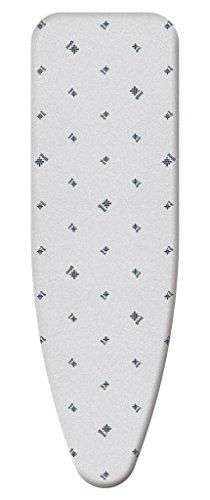 Gimi metal copriasse ricambio, tessuto, grigio, 126x45x0.02 cm