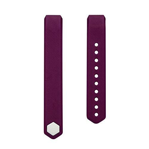 Sguan-wu Silikon Ersatz Smart Armband Band Handschlaufe für Veryfit ID115 ID115Plus - für Veryfit ID115 Lila