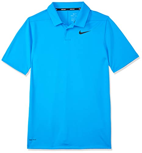 Nike Jungen Golf-Poloshirt Victory, Photo Blue/White, XL, AA3334-406