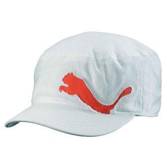 Puma - Casquette de Baseball -  Homme taille unique Blanc/orange taille unique