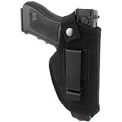 Modaka Etui pour Pistolet, Holster de Ceinture IWB/Taille intérieure Le Holster Tactique en Plein air - Etui de Police, Chasse, Sport
