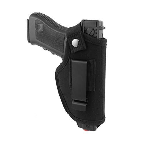 Gürtelholster Deluxe Commando Schwarz Nylon Taktische Molle Pistolenholster Gürtelholster für Pistolen (Verdeckte Holster Ruger Lc9)