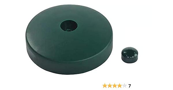 Gartenwelt Riegelsberger Premium PVC Pfostenkappe 100x100 mm GR/ÜN Abdeckung f/ür Kantholz 10x10 cm aus Kunststoff